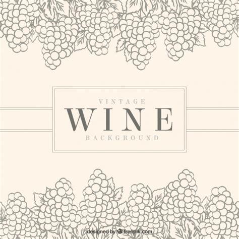 imagenes de uvas en blanco y negro fondo vintage con racimos de uvas decorativos descargar