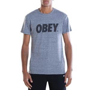 obey clothing obey clothing obey font t shirt evo outlet