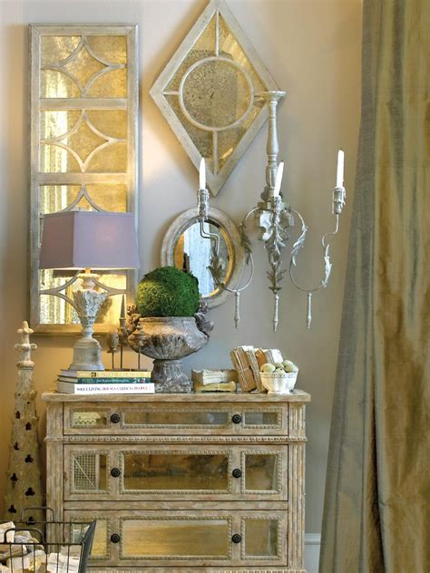 mirrored furniture candle light fixtures hgtv