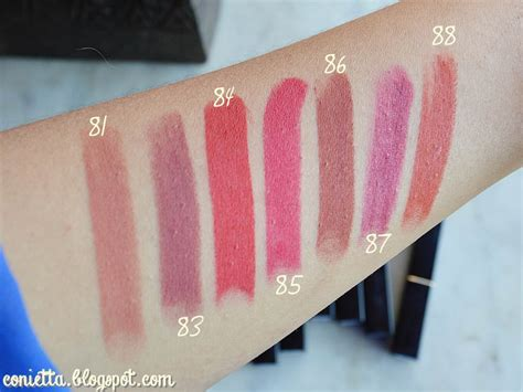 Lipstik Make No 4 swatch purbasari lipstick matte minus no 82 89 90