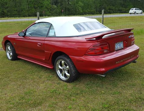 1994 mustang gt for sale 1994 mustang gt convertible