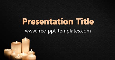 Funeral Ppt Template Free Funeral Slideshow Template Powerpoint