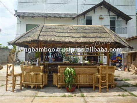 Tiki Bar Delaware Tiki Bar Casa De Bambu Telhado Para Resort Caf 201