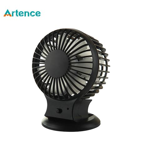 silent fans for home rechargeable desk usb fan with lithium battery