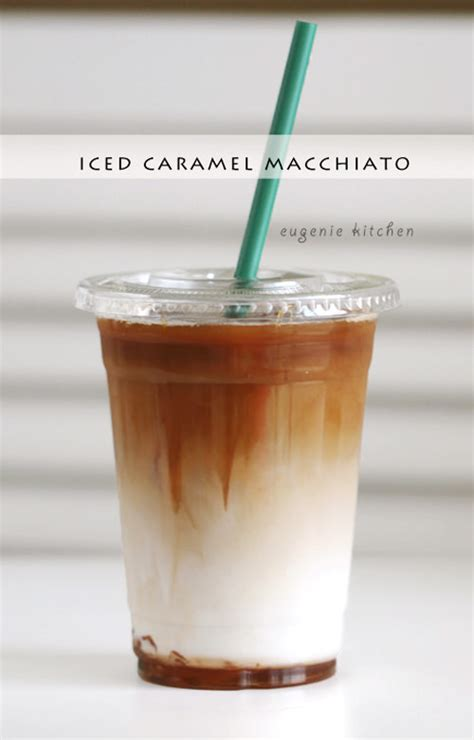 How to Make Starbucks Iced Caramel Macchiato [Copycat Recipe]