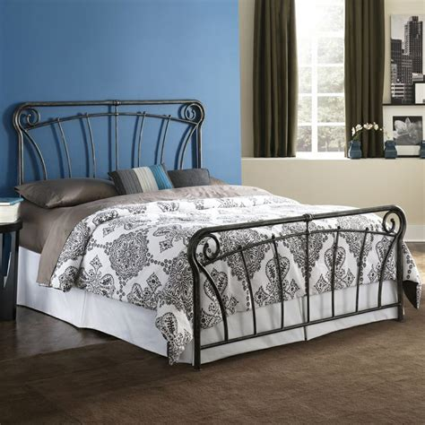 Wrought Iron Headboard And Footboard by Langford Iron Bed By Fashion Bed Wrought Iron