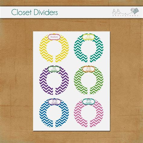 Baby Closet Divider Template by 17 Best Images About Divider On Free
