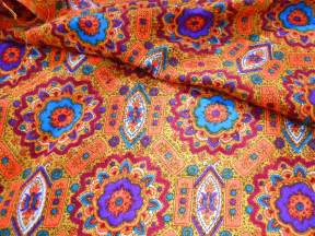 Funky Upholstery Fabric Vintage Fabric Mod Moroccan
