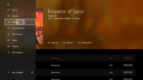 windows 10 mobile groove music updated with fluent design microsoft s fluent design comes to groove music on xbox