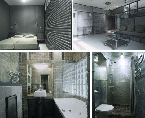 Industrial Interior Intense Modern Metal Apartment Design Metal Interior Design