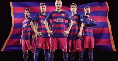 Barca Home New new barcelona 2015 2016 football kits