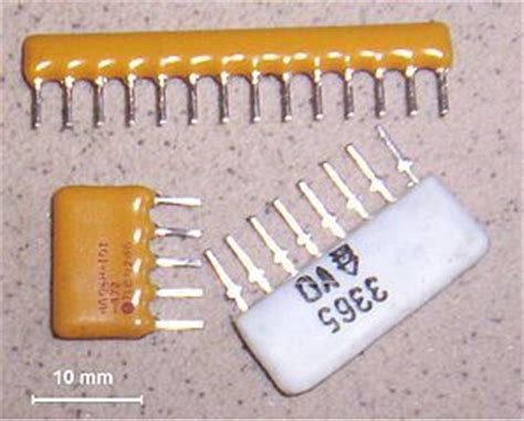 resistor array types types of resistors and how to choose one
