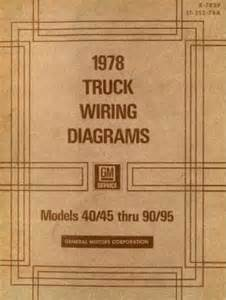 gmc truck wiring diagrams manual 1978 used
