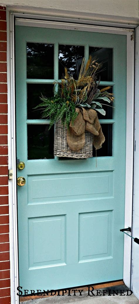 serendipity refined blog turquoise painted wood exterior