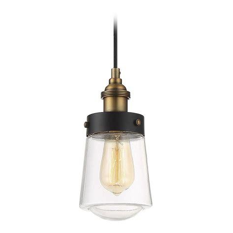 Savoy Pendant Lights Mid Century Modern Mini Pendant Light Black Brass Macauley By Savoy Hosue 7 2064 1 51
