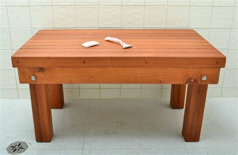 outdoor shower bench patio shower bench outdoor wood bench for shower