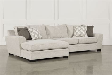 clarke fabric 2 piece sectional sofa 2 chaise sofa maier charcoal 2 piece sectional w laf