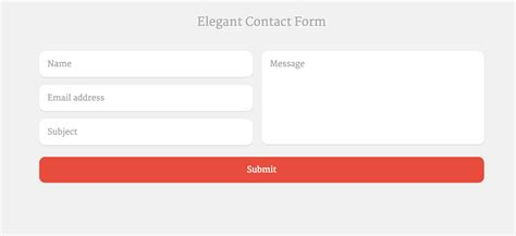 contact form template 9 tips to make exceptional contact forms in