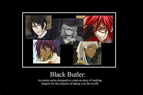 Black Butler Memes - black butler fangirl demotivational meme by