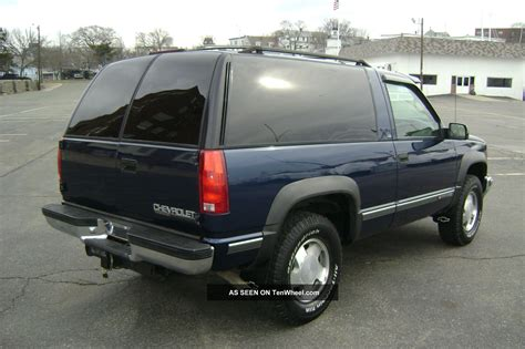 1999 2 Door Tahoe by 1999 Chevy Chevrolet Tahoe 2 Door V8 Auto 4x4