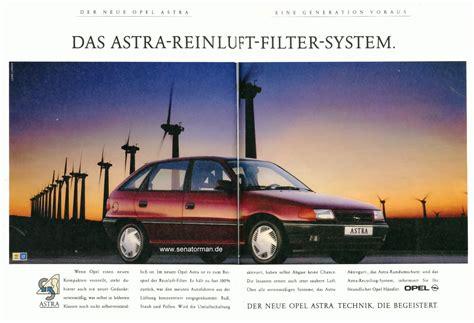 Auto Straßenverkehr by Opel In Der Werbung