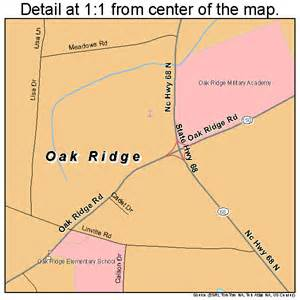oak ridge carolina map 3748480