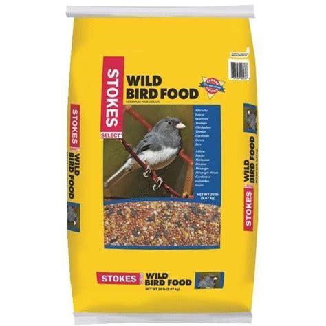stokes select 20 bag wild bird food bird seed blend 536