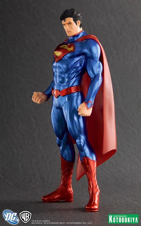 Kotobukiya Artfx Statue Superman superman dc comics new 52 artfx statue from kotobukiya comic book statues and busts