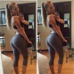 Amanda lee la fitness model with unreal waist and hips imdbabes