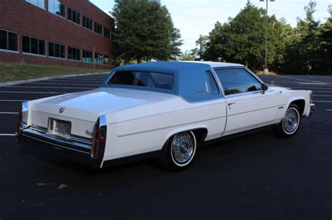 1983 Cadillac Fleetwood Brougham Coupe 1983 Cadillac Fleetwood Brougham Coupe 59k White