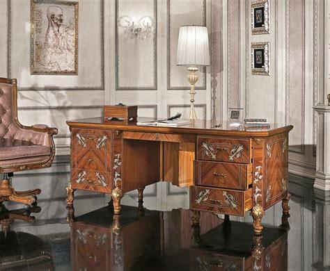 scrivanie di lusso scrivania classica di lusso impiallicciata per la casa