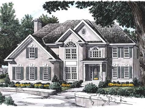 eplans new american house plan distinctive arches in 135 best home plans images on pinterest dream houses