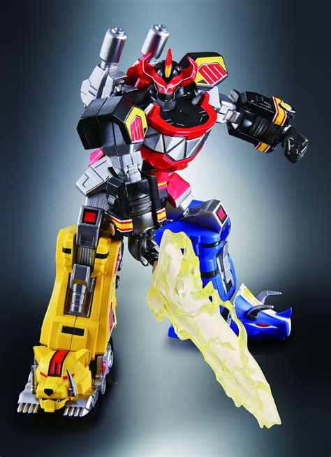 film robot power rangers new pics and info for super robot chogokin megazord the