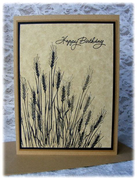 Handmade Masculine Birthday Cards - 25 best ideas about masculine birthday cards on