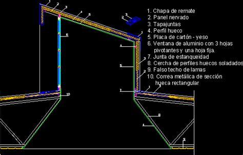 detalle claraboya lucernarios archives p 225 2 de 2 planos de casas