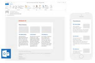Outlook Template Newsletter by 7 Places To Find Quality Email Newsletter Templates