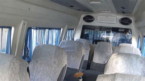 Tempo Interiors by Tempo Traveller Tourist Transport For Rajasthan And All