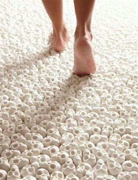 teppich totenkopf skull carpet make me laugh