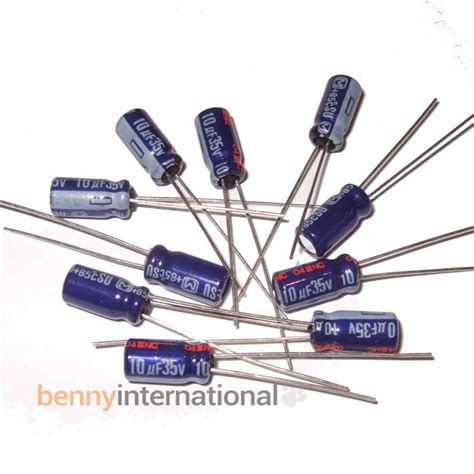 Elco 100uf 35v 1 Pcs 10uf 16v radial capacitor 28 images electrolytic