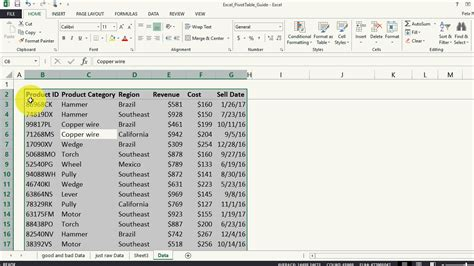 excel pivot table excel pivot tables a comprehensive guide howtoanalyst