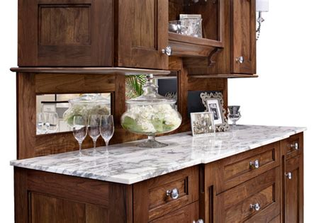 kitchen hutch cabinet walnut hutch buffet or bar traditional san francisco by golden gate kitchens