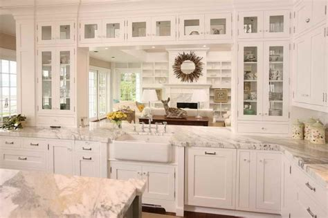 off white kitchen cabinets with white countertops white kitchens with granite countertops images off white