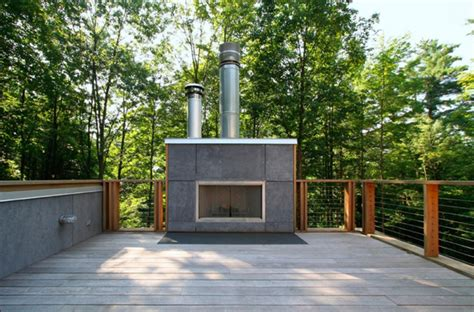 modern home design outdoor 12 amazing modern outdoor fireplaces design milk