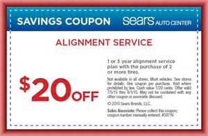 Car Alignment Discount Tires Get Sears Tire Coupons And Rebates 2016 To Save Your Money