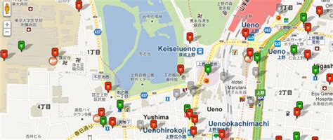 giscafe voice japanese website maps post box locations