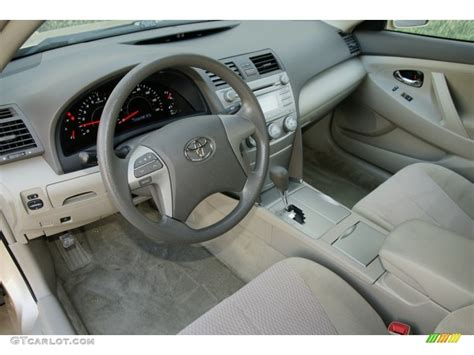 2010 Camry Interior by 2010 Toyota Camry Standard Camry Model Interior Photo