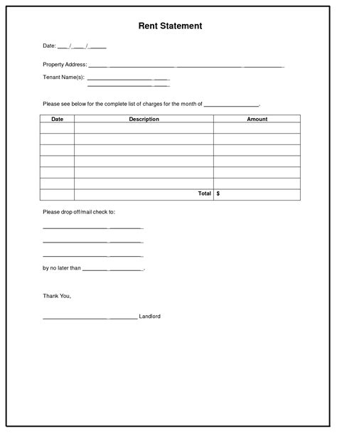 monthly rent invoice template best photos of monthly rent invoice template rent