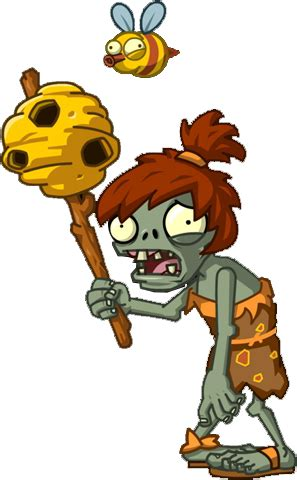 beehive thrower zombie plants  zombies wiki fandom