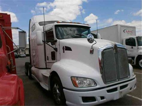 kenworth t660 2014 sleeper semi trucks