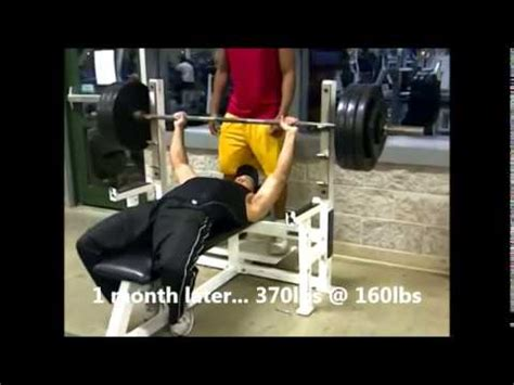 400 bench press from 250lbs to 400 lbs on the bench press youtube
